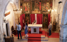 Visita històrica a la Garriga