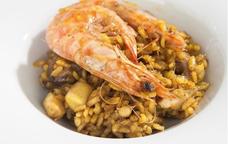 Arròs amb llagostí, un dels plats estrella de les Jornades del Llagostí d'Alcanar