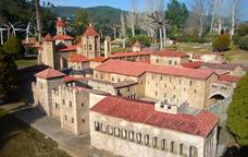 El monestir de Poblet a la Catalunya en Miniatura