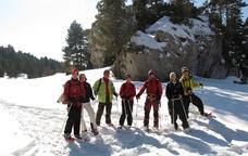 Ascensió al Puigllençada amb raquetes de neu
