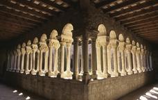 El claustre de Santa Maria de l'Estany