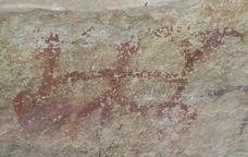 Pintures rupestres a la Cova dels Vilars