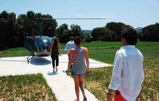 Vol en helicòpter al Maresme