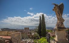 Cementiri de Sant Gervasi i les seves vistes a la ciutat