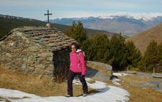 Fem el puig de Dòrria pel camí de Sant Bernabé