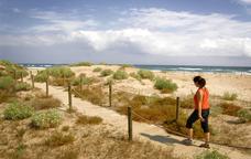 Una excursió entre dunes i llacunes als Muntanyans
