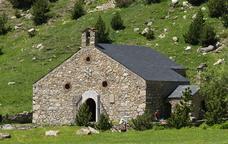 L'ermita de Sant Gil a la vall de Núria