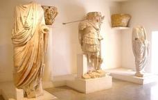 Escultures del Museu Nacional Arqueològic de Tarragona