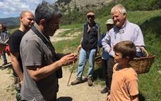 Una de les activitats programades permet apreciar els bolets naturals del Parc del Castell de Montesquiu