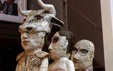 Exposició de ceràmica a la fira Terrània