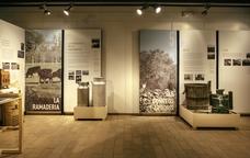 Sala de l'exposició Empordà industrial