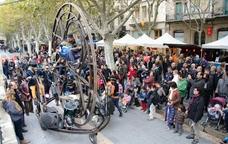 Espectacles de carrer a la Fira Mediterrània
