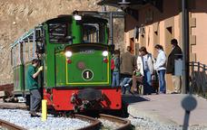 Dalt del Ferrocarril Turístic de l'Alt Llobregat