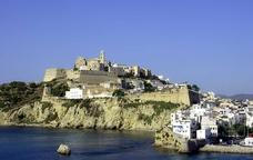 Dalt Vila, la part alta del nucli històric de la ciutat d'Eivissa