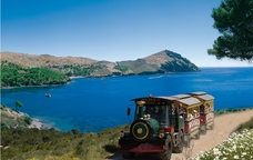 Excursions pel Cap de Creus amb el tren turístic Roses Exprés