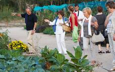 Visita guiada als horts ecològics de Sant Benet
