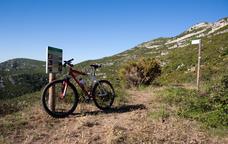 Des d'Ulldecona fins a la serra de Montsià sobre dues rodes