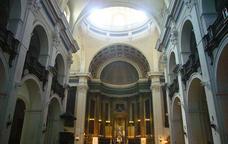 Interior de l'església de Sant Agustí