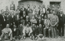 Treballadors de la Cooperativa La Lealtad de Gràcia