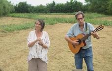 Intervenció musical i poètica de Mireia Mena i Ramon Manent