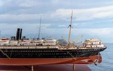 Model del vapor correo Infanta Isabel de Borbón