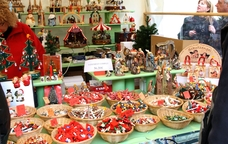 Productes nadalencs del Mercat de Nadal de Reus
