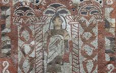 Mosaic a la vil·la romana de Tossa