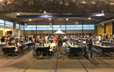 El pavelló d'esports de Santa Cristina d'Aro acull la Mostra de Tastets de Cuina Casolana