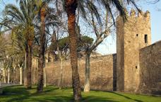 Visita el portal de Santa Madrona i els jardins del Baluard