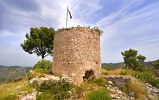 Cap al castell vell d'Olivella