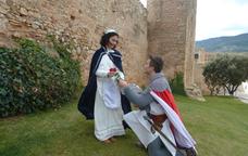 Sant Jordi i la princesa a Montblanc