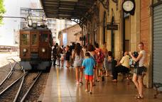 De Palma a S�ller en un tren d��poca