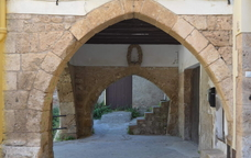 Una de les construccions medieval de Piera