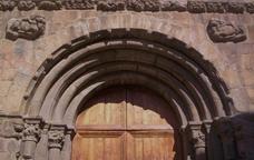 Portada de la catedral de la Seu d'Urgell