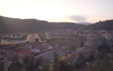 Vista de Puig-reig des del castell