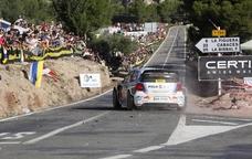 Un moment del RallyRACC per les carreteres de la Costa Daurada