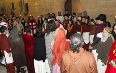 Recreació històrica als carrers de Sant Pere de Riudebitlles