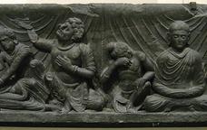 Representació del Parinirvana de Siddharta Gautama.