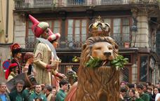 El Lleó de Barcelona i els Gegants del Pi són els amfitrions de la festa