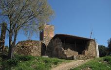 Per la muntanya de Sant Grau des de la vila de Sant Gregori