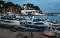 El port de Sant Feliu de Guíxols