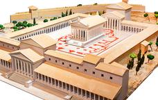 A l'exposició De Tarragona a Tournai podem veure maquetes de la Tarraco Romana