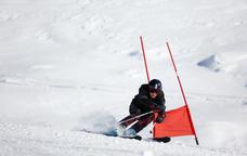 Cursa d'esquí amb obstacles