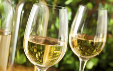 Copes de vi blanc