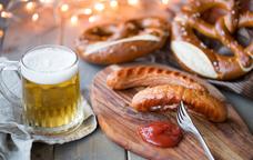 Gastronomia tradicional alemanya a l'Oktoberfest