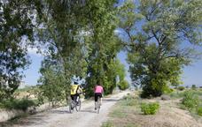Pedalant per l'espai natural dels tossals de Torregrossa