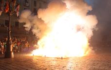 Una tronada de la Festa Major de Reus