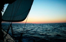A bord del veler Onas