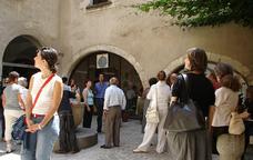 Visitants al Museu de les Cultures del Vi de Catalunya