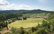 Vista del municipi de l'Estany
